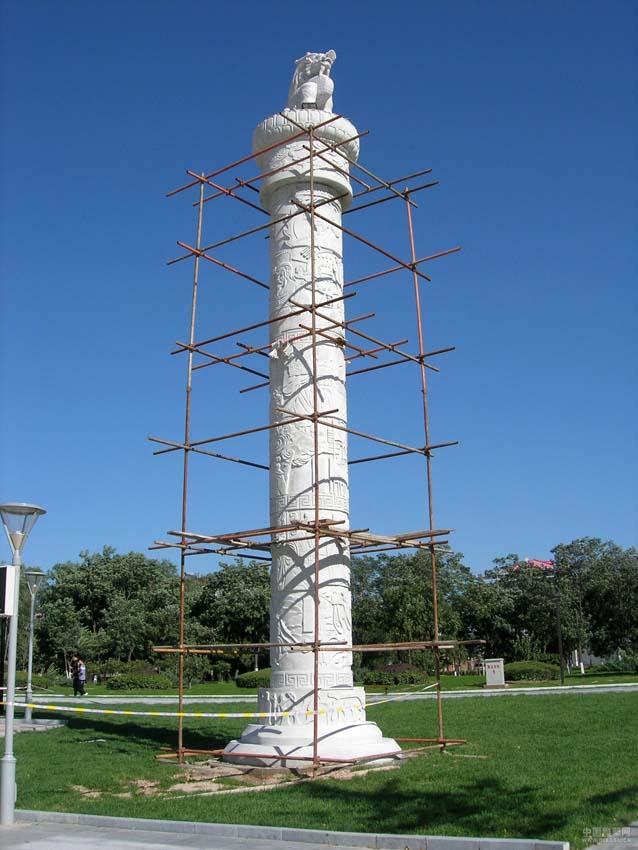 为世界准备的技艺曲阳久宏雕塑的石雕